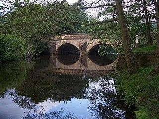 Highlow Civil parish in Derbyshire Dales, England