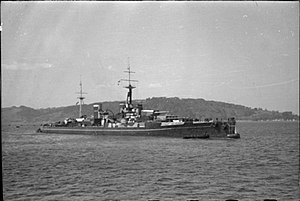 HMS Anson (79) - HMS Centurion masquerading as HMS Anson