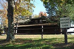 The Shack (the Harry M. Daugherty cabin), a historic site in the township