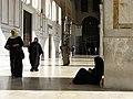 The Umayyad Mosque, Muslim Women, Damascus, Syria.jpg