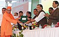 "The Union Minister for Agriculture and Farmers Welfare, Shri Radha Mohan Singh presented the awards at the inauguration of the ""Krishi Unnati Mela, 2017"", in New Delhi (2).jpg"
