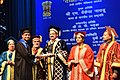 The Vice President, Shri M. Venkaiah Naidu presenting the degrees to students, at the Convocation of Lady Hardinge Medical College, in New Delhi (1).JPG