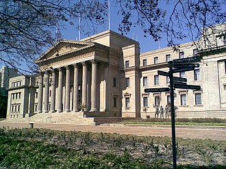 University of the Witwatersrand - The Great Hall, on East Campus, where graduation ceremonies, ceremonial lectures, concerts and other functions are held.