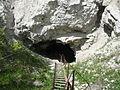 The entrance to the Orda cave. Вход в Ординскую пещеру.jpg