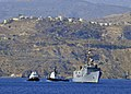 The guided missile frigate USS Samuel B. Roberts (FFG 58) arrives for a port visit in Souda Bay, Greece Aug. 19, 2013 130819-N-MO201-033.jpg
