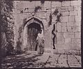 The khatun at the door of Sheikh 'Adi by Gertrude Bell.jpg