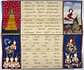 The monk Phra Malai converses with Indra in heaven Wellcome L0030798.jpg
