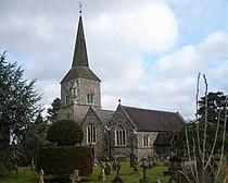 The parish church of St. Nicholas, Chislehurst - geograph.org.uk - 1135747.jpg