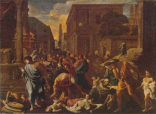 1630 painting by Nicolas Poussin