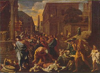 Nicolas Poussin, The Plague of Ashdod.