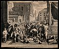 The plague of the Philistines at Ashdod. Engraving by G. Tol Wellcome V0010571.jpg