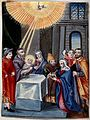 The presentation of Jesus at the Temple. Painting. Wellcome V0034651.jpg
