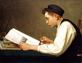 The young student by Ozias Leduc, 1894.jpg