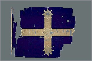 Eureka Flag symbolic flag used at the Eureka Stockade