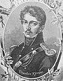 Theodor Körner, Dichter, Holzstich, ausGartenlaube 1891.jpg
