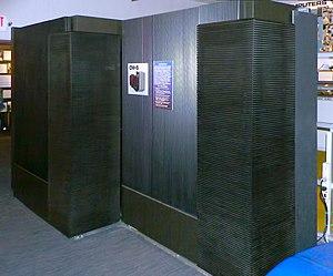 Thinking Machines Corporation - Image: Thinking Machines Connection Machine CM 5 Frostburg 2