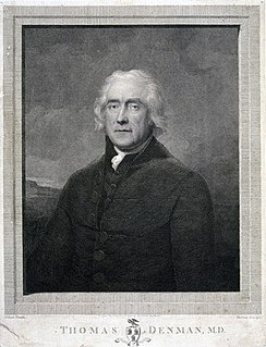 Thomas Denman (physician) English physician