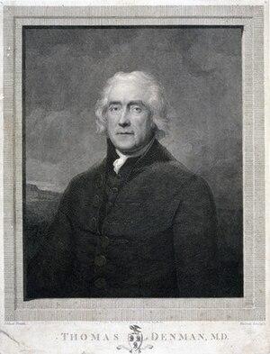 Thomas Denman (physician) - portrait by William Skelton