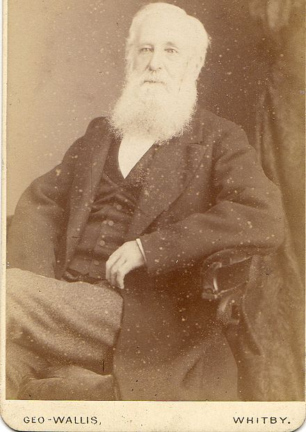 Thomas Thistle (born 1813 Ugglebarnby Yorkshire, died 1892). Father of Rev Thomas Thistle (1853 -1936) and Hannah Elizabeth Vowles nee Thistle (1842-1903) ThomasThistle(born1813UgglebarnbyInYorkshiredied1892)FatherofRevThomasThistle(1853 -1936)andHannahElizabethVowlesneeThistle(1842-1903).jpg