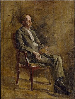 Thomas Eakins - Study for Portrait of Professor Rowland (Addison Gallery of American Art)