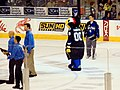 Thunderbug the mascot of the Tampa Bay Lightning (2188281967).jpg