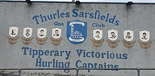 Thurles Sarsfields GAA gaelic games club in County Tipperary, Ireland