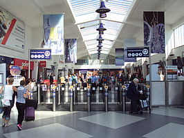 Ticket barriers, Blackpool North - DSC06503.JPG