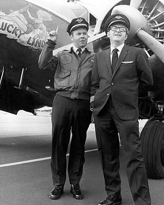 Joe Flynn (American actor) - Flynn co-starred with Tim Conway in The Tim Conway Show in 1970. Flynn played the role of the boss of a small airline and Conway played its pilot.