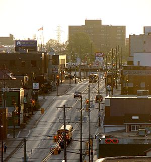 Ontario Highway 101 - Highway 101 is known as Algonquin Boulevard in Downtown Timmins