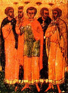 Timolaus and companions
