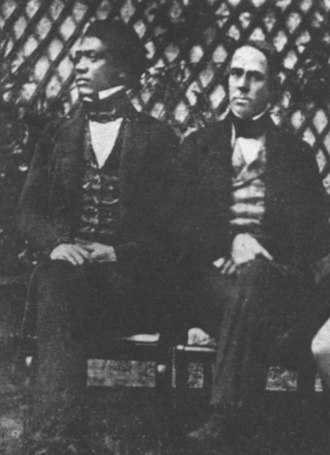 Richard Charlton - Image: Timothy Haalilio and William Richards, Paris, 1843