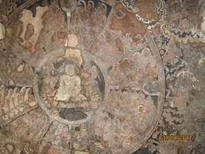 Tirumalai (Jain complex) - Painting depicting Samavasarana