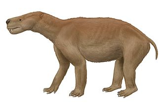 Paleocene - Life restoration of Titanoides