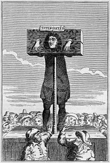 Pillory Whipping-post