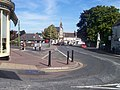 Tiverton , Gold Street, Clock Tower and Statue - geograph.org.uk - 1282267.jpg