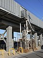 Tokaido Shinkansen maintenance workers stair - Motoima.jpg