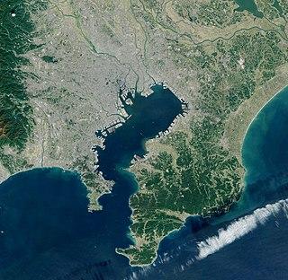 Tokyo Bay Bay of Japan area
