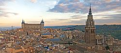 Toledo Skyline Panorama, Spain - Dec 2006 edit.jpg