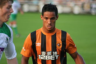 Tom Ince - Ince playing for Hull City in 2014