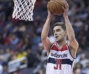Tomáš Satoranský - Satoranský with Washington Wizards in 2016