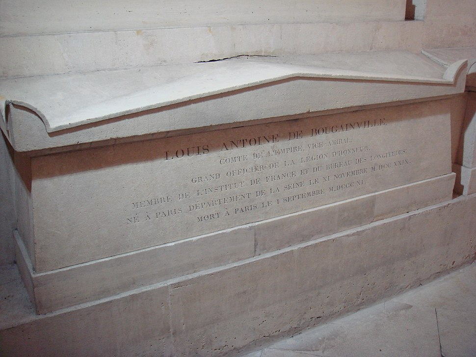 Tomb of Bougainville at the Pantheon
