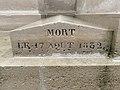 Tombe Pierre Daumesnil Cimetière Ancien Vincennes 8.jpg