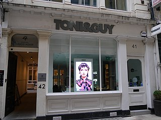 Toni & Guy British chain of hairdressing salons