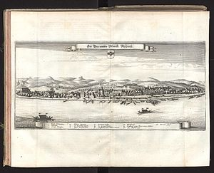 Aschach an der Donau - Aschach an der Donau in 1679