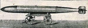 Schwartzkopff torpedo - Schwartzkopff torpedo adopted by the Russian Navy ca. 1904