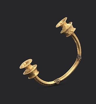 National Archaeology Museum (Portugal) - Torc, 2nd Iron Age, Castro Culture Northeastern Iberian Peninsula