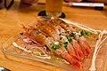 """Totoyume's food """"shrimp""""; August 2013.jpg"""