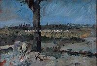 Toulouse-Lautrec - AUX CHAMPS, 1880, MTL.32.jpg