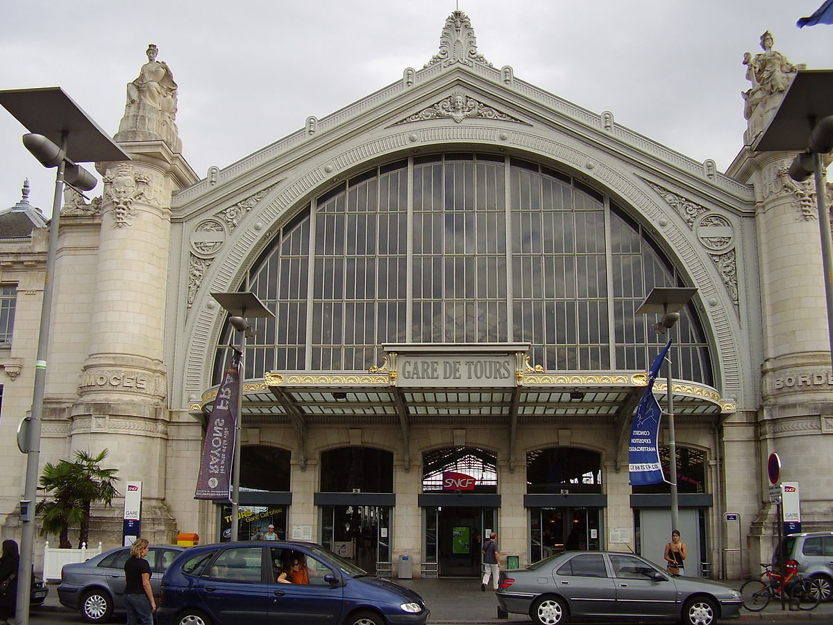 gare de tours wikipedia. Black Bedroom Furniture Sets. Home Design Ideas
