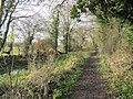 Towpath to the track - geograph.org.uk - 1639862.jpg